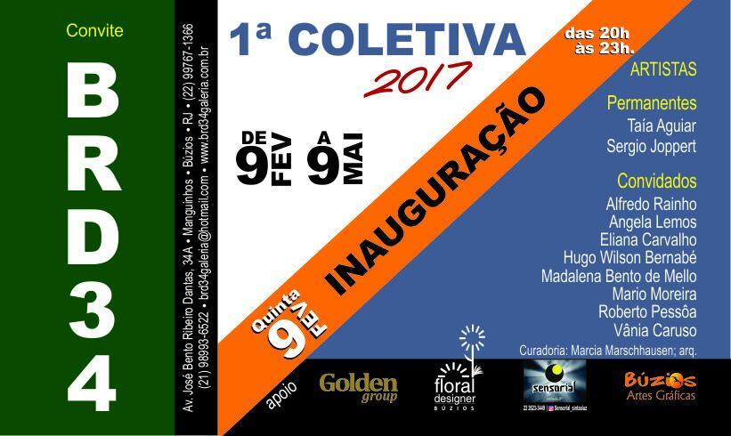1ª coletiva 2017 Galeria Taía Aguiar