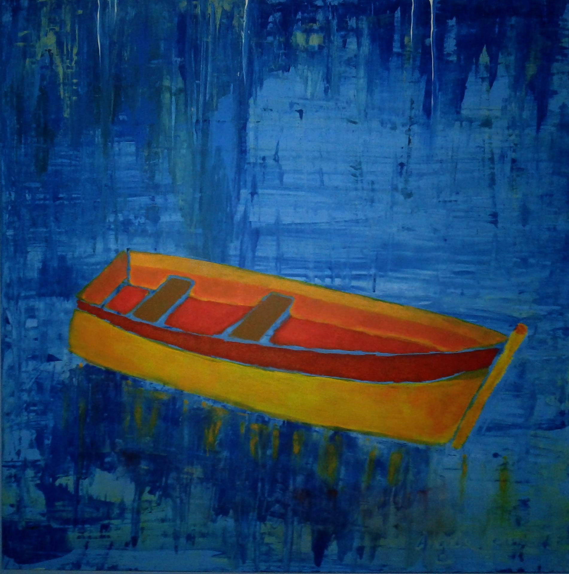 O Barco pintura decorativa angela lemos