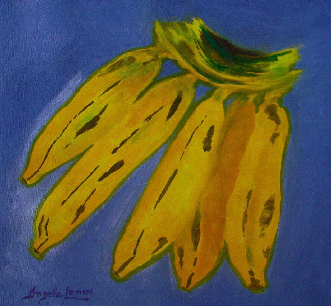 Banana-fundo-azul-pintura-angelalemos