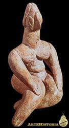 Arte neolítica Escultura Deusa da Fertilidade