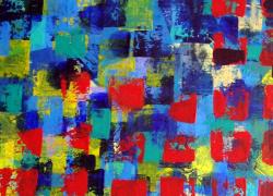 Interseções Pintura Acrílica de Angela Lemos