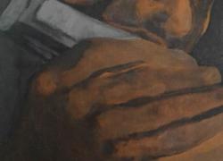 O Gaitista Acrílico sobre tela – 0.20×0.40