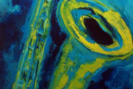 Sax-verde--fundo-azul