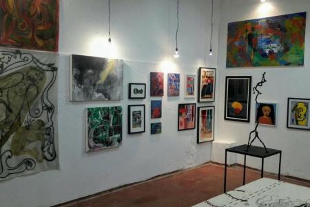 Angela Lemos na meu bb galeria arte fabrica bhering