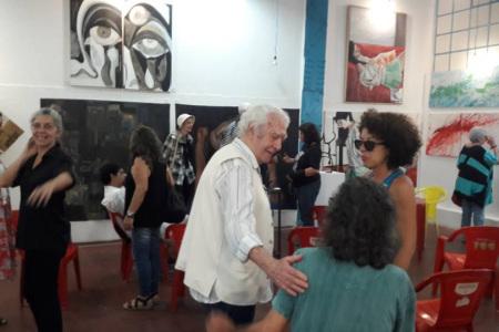 Palestra -John Nicholson Meu BB Galeria de Arte Fabrica Bhering---2018