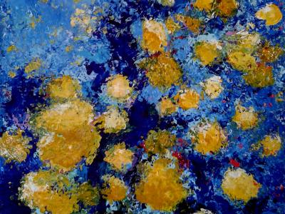 Título: Floral Amarelo