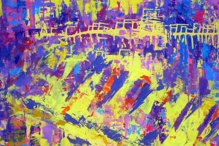 Título: Action Painting Abstraindo Musica Ane Brun
