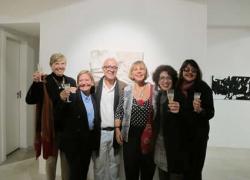 Angela Lemos, Vilmar Madruga e Artistas na Exposição de Arte Elas Madrugam