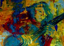 Título: O Violonista Amarelo