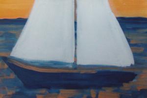 Barco a vela em Búzios de Angela Lemos