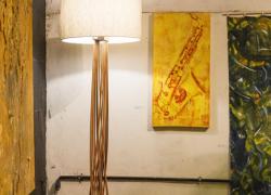 Sax Amarelo de Angela Lemos no SOMA Conexão ArtRio na Fábrica Bhering 2017