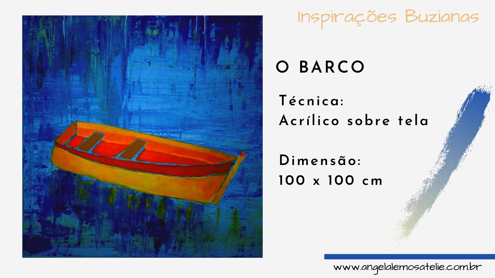 Pintura Figurativa Barcos Angela Lemos