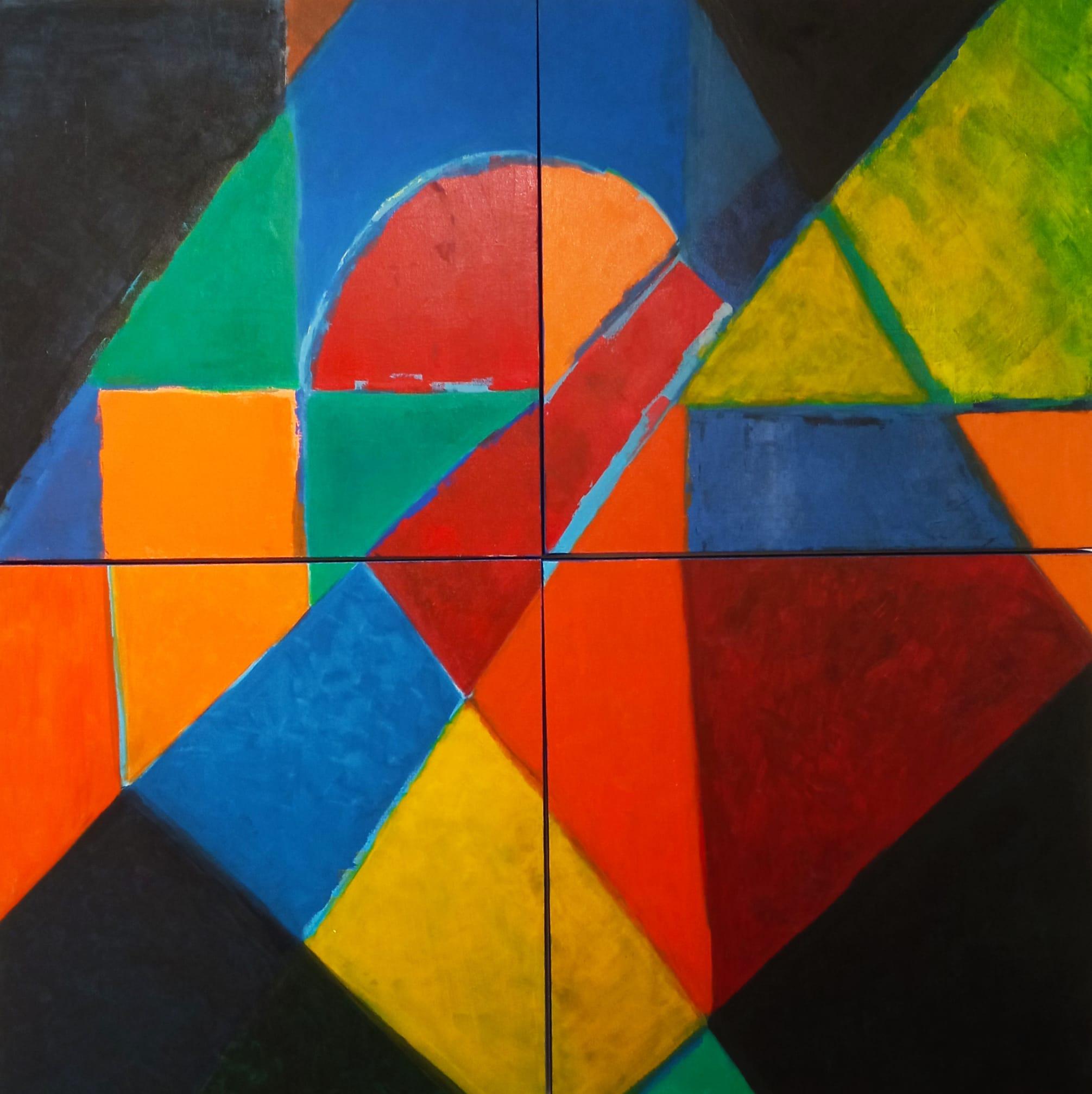 Angela Lemos Abstrato Geométrico