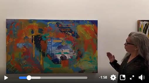 Marcia Marschhausen apresenta Angela Lemos no Espaço BB Arte Ipanema Atelier Jeannette Priolli