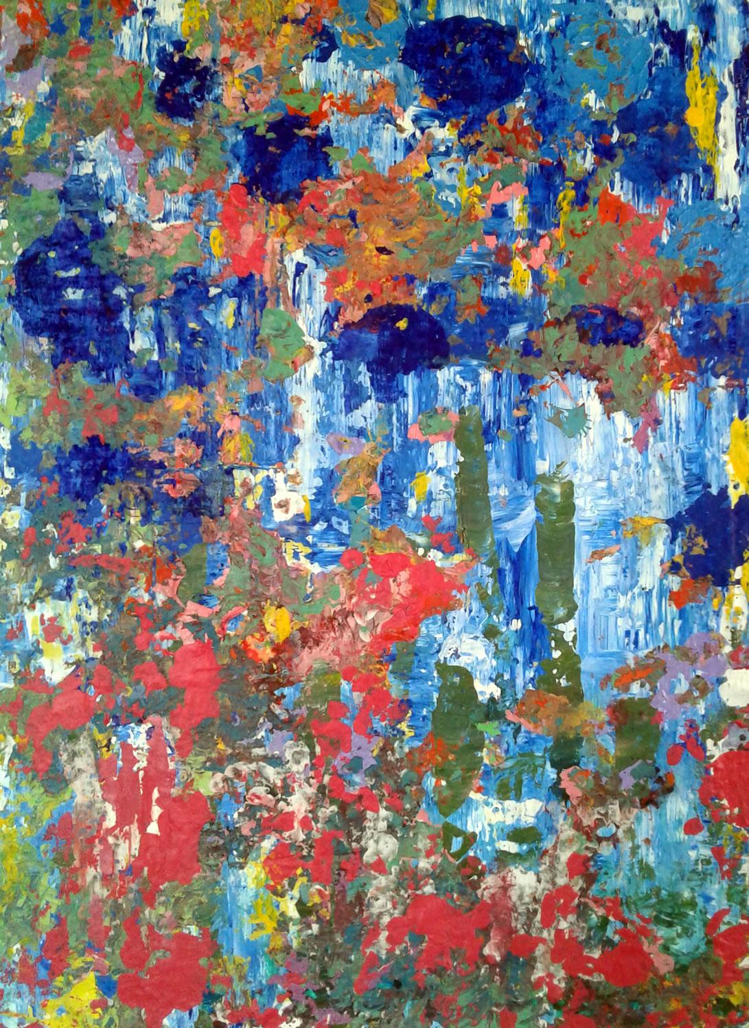 Abstraindo Flores Outono